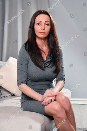 Sammy Woodhouse  21/3/14 Sammy Woodhouse 31 Who Was Abused By Rotherham Sex Gang Ringleader Arshid Hussain And Waived Her Right To Anonymity To Speak Out About Her Ordeal.pictured At Her Home In Thurcroft South Yorkshire.