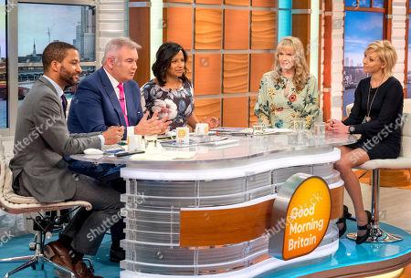 Editorial photo of 'Good Morning Britain' TV show, London, UK - 12 Apr 2018