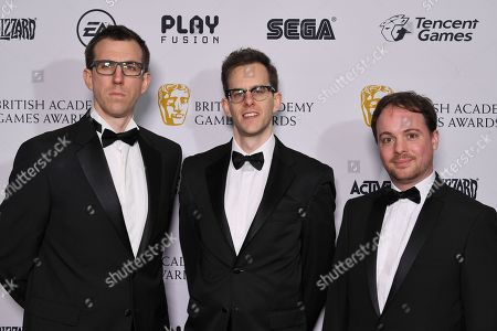 James Griffiths, Charles Griffiths and Tom Lansdale