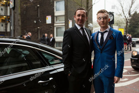 Ralph Ineson and son