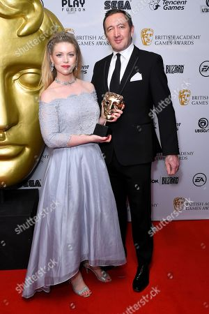 Editorial picture of 14th British Academy Games Awards, Press Room, London, UK - 12 Apr 2018