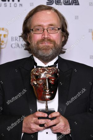 Editorial photo of 14th British Academy Games Awards, Press Room, London, UK - 12 Apr 2018