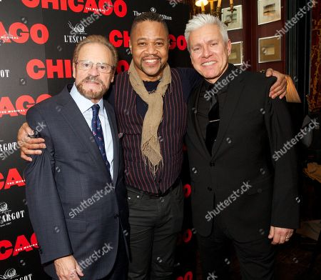 Barry Weissler (Producer) & Cuba Gooding Jr (Billy Flynn & David Ian (Producer)