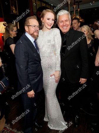 Barry Weissler (Producer), Joanna Rennie (Swing & David Ian (Producer)