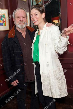 Terry Gilliam & Amy Gilliam (daughter)