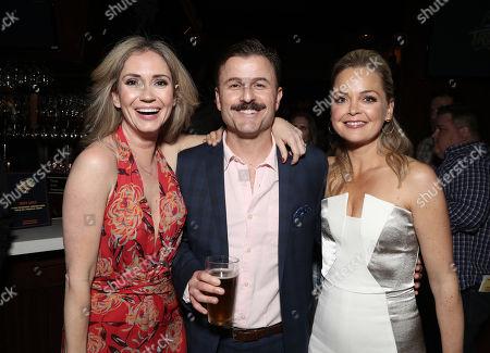 Stock Image of Ashley Jones, Steve Lemme and Marisa Coughlan