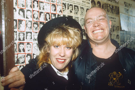 HAZEL O'CONNOR AND BUSTER BLOOD VESSEL