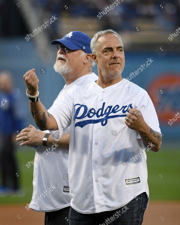 Editorial photo of Athletics Dodgers Baseball, Los Angeles, USA - 11 Apr 2018