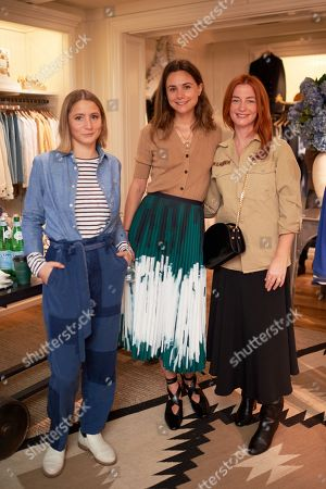 Gemma Sort Chilvers, Florrie Thomas and Stacey Duguid wearing Polo Ralph Lauren
