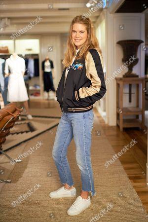 Hattie West wearing Polo Ralph Lauren