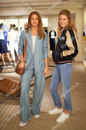 Hattie West and Millie Mackintosh wearing Polo Ralph Lauren