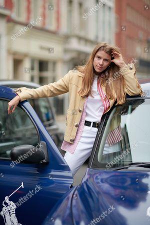 Monica Ainley wearing Polo Ralph Lauren