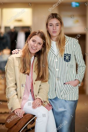 Monica Ainley and Camille Charriere wearing Polo Ralph Lauren
