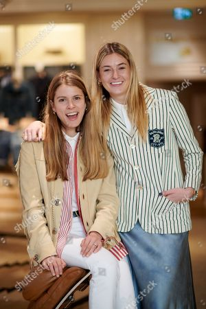Stock Photo of Monica Ainley and Camille Charriere wearing Polo Ralph Lauren