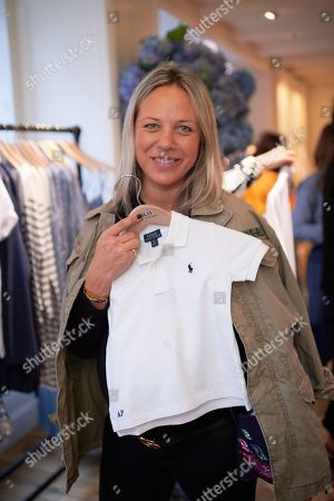 Editorial picture of Camille Charriere and Monica Ainley host a breakfast to celebrate the Polo Shirt, at Polo Ralph Lauren's Regent Street store, London, UK - 12 Apr 2018