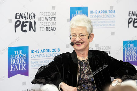 Bestselling Children's book author Dame Jacqueline Wilson, author of the Day at The Book Fair 2018.