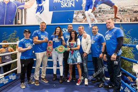 """Editorial photo of """"FIBO Global Fitness"""" trade fair, Cologne, Germany - 12 Apr 2018"""