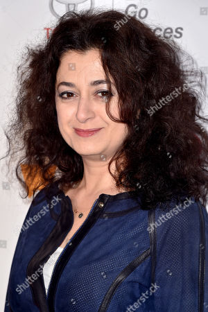 Editorial image of 9th Annual Women in the World Summit, Arrivals, New York, USA - 12 Apr 2018