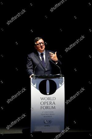 Stock Picture of Jose Manuel Barroso