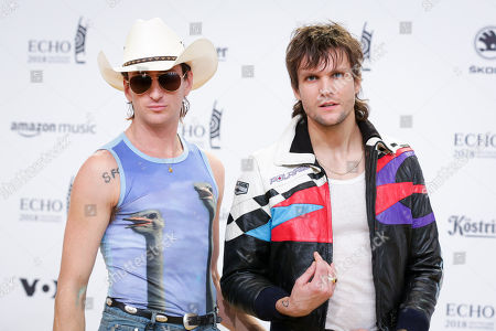 Martin Johnson and Kirin J Callinan (Band: The Night Game)