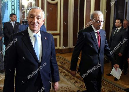 Sherif Ismail and Marcelo Rebelo de Sousa