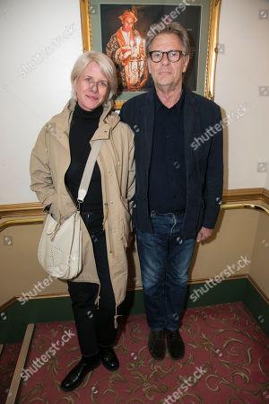 Stock Picture of Fiona Golfar and Robert Fox