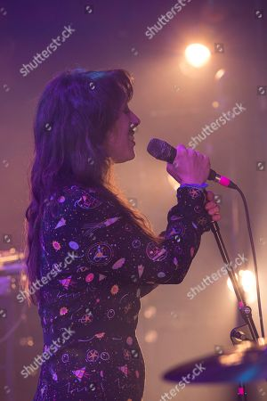 Stock Picture of Public Service Broadcasting - guest vocalist Lisa Jen Brown