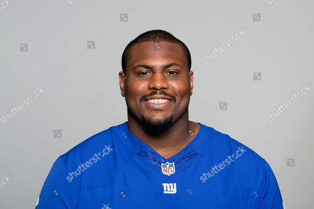 Editorial image of New York Giants NFL football team 2017 roster - 12 Jun 2017