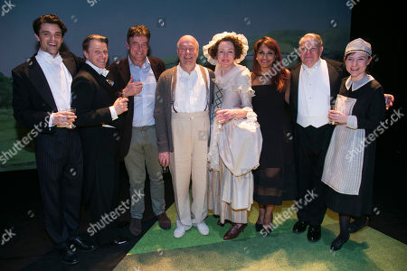 Jacob Fortune-Lloyd (Rudolf Bing), Anthony Calf (Professor Carl Ebert), Gus Christie, Roger Allam (John Christie), Nancy Carroll (Audrey Mildmay), Danielle De Niese, Paul Jesson (Dr Fritz Busch) and Whinnie Williams (Jane Smith) backstage