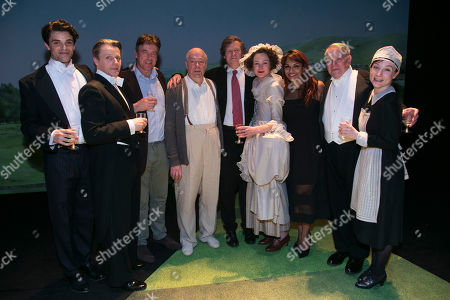 Jacob Fortune-Lloyd (Rudolf Bing), Anthony Calf (Professor Carl Ebert), Gus Christie, Roger Allam (John Christie), David Hare (Author), Nancy Carroll (Audrey Mildmay), Danielle De Niese, Paul Jesson (Dr Fritz Busch) and Whinnie Williams (Jane Smith) backstage