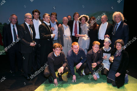 Nick Salmon (Producer), Matthew Byam Shaw (Producer), Jacob Fortune-Lloyd (Rudolf Bing), Anthony Calf (Professor Carl Ebert), Gus Christie, Roger Allam (John Christie), Ralph Fiennes, David Hare (Author), Nancy Carroll (Audrey Mildmay), Danielle De Niese, Paul Jesson (Dr Fritz Busch), Whinnie Williams (Jane Smith), Karl Sydow (Producer) and Caro Newling (Producer) backstage