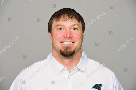 Stock Picture of This is a 2017 photo of Chase Blackburn of the Carolina Panthers NFL football team. This image reflects the Carolina Panthers active roster as of Wednesday, May 3, 2017 when this image was taken. (AP Photo)