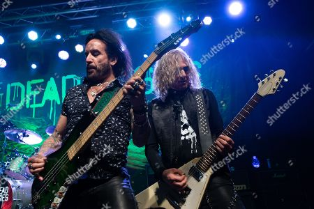 Stock Picture of The Dead Daisies - Marco Mendoza, David Lowy
