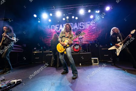 Editorial photo of The Dead Daisies in concert at Academy 2, Manchester, UK - 12 Apr 2018