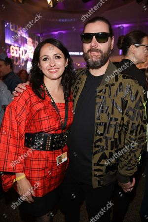 Editorial image of Echo Music Awards 2018 afterparty at Palais am Funkturm of the Messe Berlin, Berlin, Germany - 12 Apr 2018