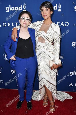 Gaby Dunn and Stephanie Beatriz