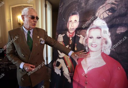 Editorial photo of The late Hungarian-American actress Zsa Zsa Gabor estate auction by Heritage, Bel Air, USA - 12 Apr 2018