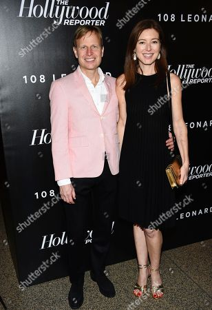 Will Cotton and guest attend The Hollywood Reporter's annual 35 Most Powerful People in Media event at The Pool, in New York