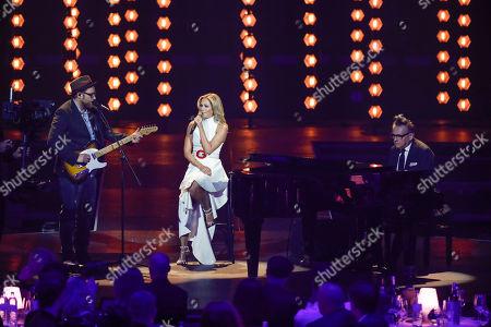 Gregor Meyle, Helene Fischer and Götz Alsmann