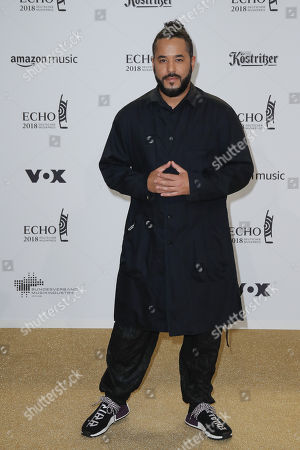 Editorial picture of Echo Music Awards 2018 at the Messe Berlin, Berlin, Germany - 12 Apr 2018
