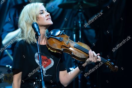 Martie Maguire of The Dixie Chicks performs in concert during the Mack, Jack & McConaughey Gala