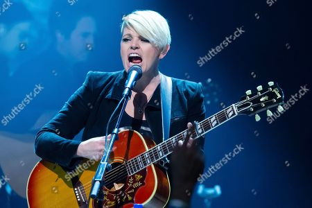 Natalie Maines of the Dixie Chicks performs in concert during the Mack, Jack & McConaughey Gala