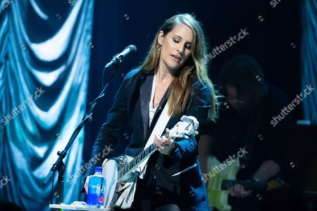 Emily Robison of The Dixie Chicks performs in concert during the Mack, Jack & McConaughey Gala