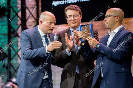 Prince Constantijn and Ronaldo Schemidt