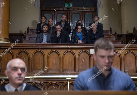 Ep 8131 Tuesday 24th April 2018  As the trial begins, it's a huge moment as Ross Barton, as played by Michael Parr, finally comes face to face with his attacker Simon, as played by Liam Ainsworth. As he relives the attack will Ross make the connection about Simon's identity and recognise him as Holly's drug dealer? Soon there's a commotion as the judge explains a key witness has died, and Ross despairs to think the case could be about to fall apart. Soon the witness' statement is read out but will it be enough evidence?