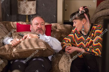 Ep 8131 Tuesday 24th April 2018  Misty, as played by Hedydd Dylan, tells Jimmy King, as played by Nick Miles, she's a sex therapist and offers to help him with his issue. As she leads him upstairs will Misty prove helpful or could her interference be a stumbling block for Nicola?
