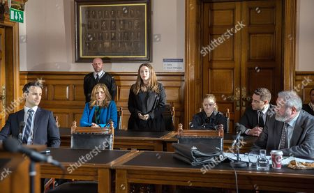 Ep 8124 Monday 16th April 2018 At court, Liv's, as played by Isobel Steele, new solicitor arrives and everyone's thrown when he won't allow Lisa to speak on her behalf. Liv's barely holding it together as she and Gabby Thomas, as played by Rosie Bentham, are called in. In the courtroom, Gabby's defence gives a convincing speech as Liv's solicitor sifts through his notes, clearly not up to speed. Liv's left boiling when he gets her name wrong and mentions Gordon. Gabby gives a repentant apology, but an upset Liv can't bring herself to speak up. Will both girls get the same justice?