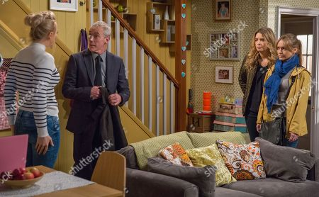 Ep 8133 Thursday 26th April 2018 - 1st ep As they see Tracy Metcalfe, as played by Amy Walsh, head into the house with Bails, as played by Rocky Marshall, Charity Dingle, as played by Emma Atkins, is left with no option but to help. Soon Charity and Vanessa Woodfield, as played by Michelle Hardwick, are interrupting their meeting and Bails makes a hasty exit leaving Tracy puzzled.