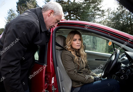 Ep 8134 Thursday 26th April 2018 - 2nd ep Bails, as played by Rocky Marshall, makes Charity Dingle, as played by Emma Atkins, a proposition which leaves her gobsmacked