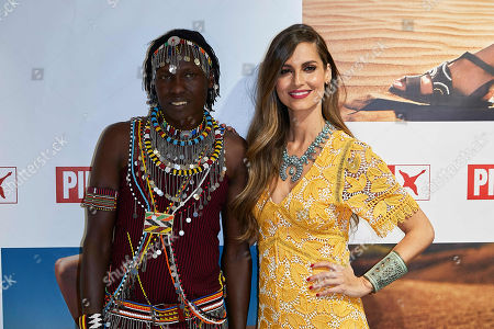 Ariadne Artiles and William Kikanae Ole Pere